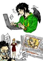 The day Loki discovered Photoshop by TashinaJacob