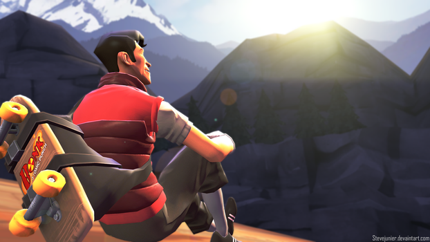 [SFM] Chilling On Top Of Watchtower by SteveJunier
