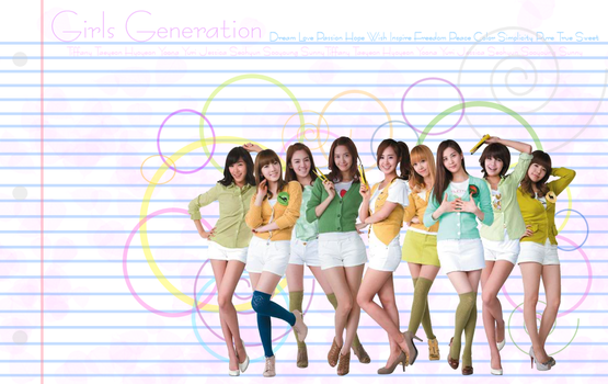 Girls Generation by Helias-Dream