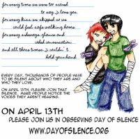 Day of Silence by VanillaPudding