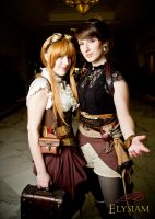 Katsucon 2012 - Lydia and Louise 1 by LadyduLac