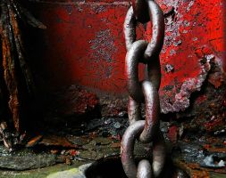 chains of decay series #1 by wroquephotography