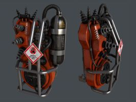 proton pack wip 2 by Aberiu