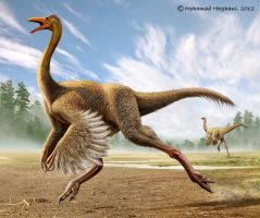 Struthiomimus by haghani