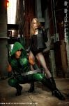 Green Arrow and Black Canary 1 by Superchica