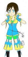 Misako Hatsune new outfit by RomanoLoves-Italy3
