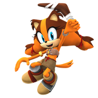 New Sticks the Jungle Badger Render! by Nibroc-Rock