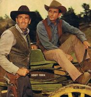 Henry Fonda and Alan Case by peterpulp