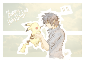 Pocky-Chu!~ by FeraNelia