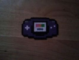 GBA in perler beads by dylrocks95