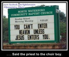Choirboy by AAtheist