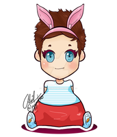 LOUIS TOMLINSON by Melancholy-Puppet