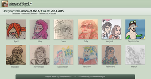 (Belated) Year Four on DeviantART by Manda-of-the-6