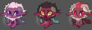 Chimera Batch 01 [SOLD] by DeadEndAdopts