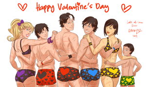 Valentine Undies by Colours07