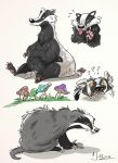 Badgers by dodgyrommer