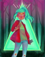 Oxenfree - Alex by a-i--d-e-n