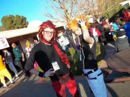 Axel and Neku Cosplayers by tangywolfie2