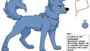 Alexander Rybak Wolf by WILFRE-IS-AWESOME