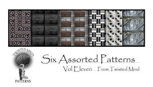 Twisted Mind Pattern Set 11 by Textures-and-More