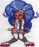 Felicia-Cross Stitch by shingorengeki