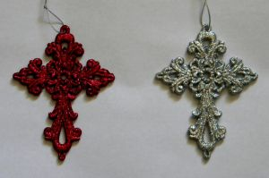 glittery crosses by Gothicmamas-stock