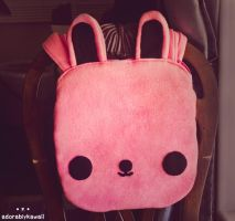 Bunny Tote Bag by adorablykawaii