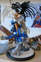 Urd came to me: Glued by kirys79