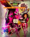 Power Rangers Dino Charge: Black Is The New Pink by LeveyYes