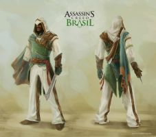 Assassin`s Creed Brasil - Personagem by diogocarneiro