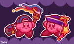 Kirby Stickers 1 by StormingBomber
