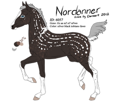 6057 - Nordanner Foal Design by Ikiuni