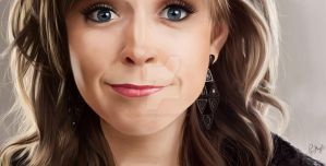 Digital paint - Lindsey Stirling by Priscila-Mizu33