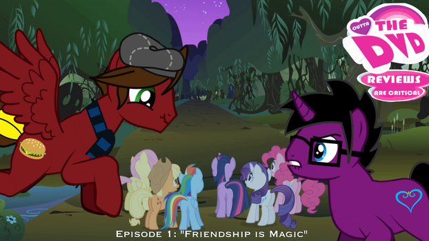 OTD: MLP FiM Review #1 Title Card by UniversalStudiosGeek