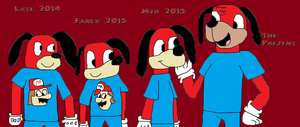 The Evolution of Tom MacPow by Mariolover54321