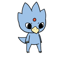 055 golduck by pinkbunnii