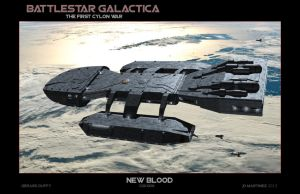 Battlestar Galactica - New Blood by dragonpyper