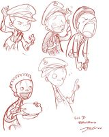 Li'l D Class of 3000 by davidsdoodles