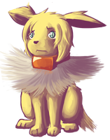 Chibi Jolteon by Vulcan-flare86