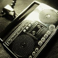 Old School Boombox Necklace by Om-Society