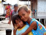 Bajau girls by ZephyraMilie
