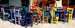 Cafes of Kas - Antalya by Navvyblue