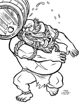 A to Z: Gragas by TheCaybo