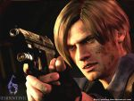 Leon RE6 Wallpaper by Sparrow-Leon