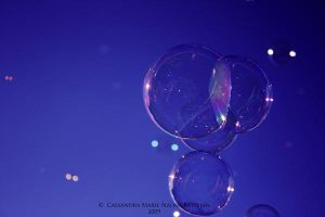 Bubble Fun I by Mocca-Coffee