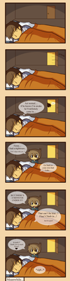 There's a pedo under my bed by chienoir