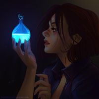 Blood lamp by Ravietta