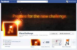 PlaceChallenge facebook cover photo and avatar set by michalkosecki