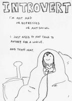 Introvert by AnimatedCookiePeople