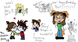 Tsu's B-Day iscribble doodlez by Invader-Zim-Fever